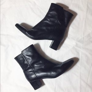 💕❤️Nine West boots Sz 9.5 , leather ❤️💕